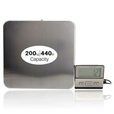 440lbs0.1lb Ac Digital Scales Floor Bench Scale Postal Platform Shipping Scale