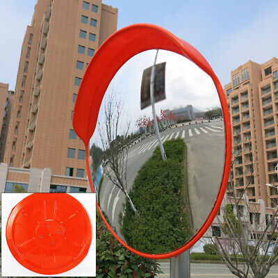 1824 Outdoor Wide Angle Security Convex Pc Mirror Road Traffic Driveway Safety