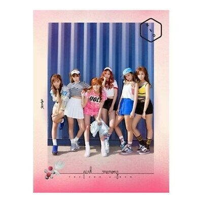 K-POP APINK 2nd Album [Pink MEMORY] RED Ver. CD + Booklet + Photocard Sealed