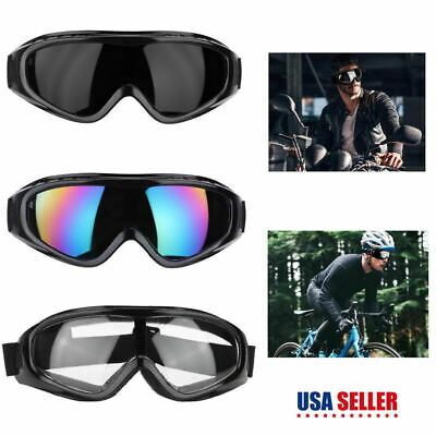 Safety Goggles Wrap Around Eye Protection Glasses Lab Work Outdoor Sport Eyewear