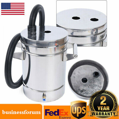 304 Stainless Steel Fluidized Powder Hopper For Powder Coating Machine Usa Stock