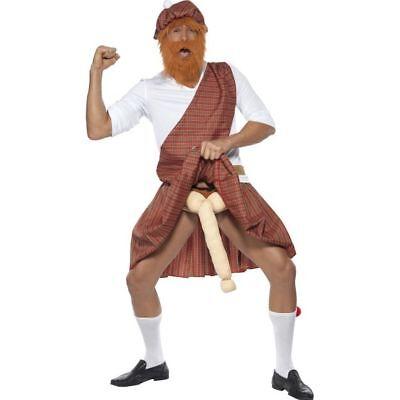Smi - Herren Kostüm gut bestückter Schotte Karneval - Gute Herren Kostüm