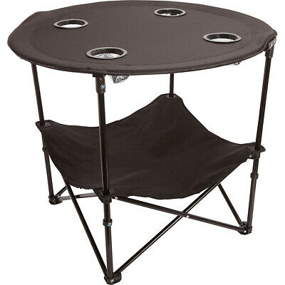 Bellino Folding Table – Black Outdoor Accessorie NEW Luggage