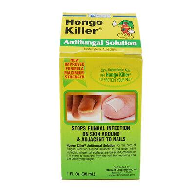 Hongo Killer Antifungal Solution. Athlete's Foot, Skin & Nails Treatment. 1 -