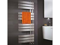 Bathroom Chrome Towel Rail 1200mm x 500mm NOW £199