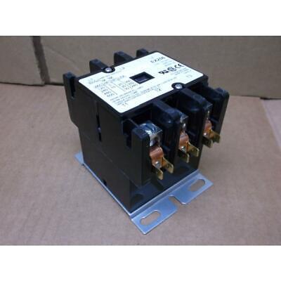 HARTLAND CONTROLS HCCY3XT06CJ284 3 POLE 60 AMP CONTACTOR, COIL:120VAC, HZ:50/60
