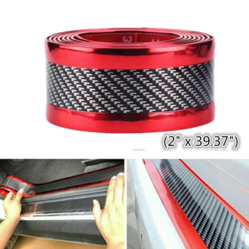 Car Parts - Car Stickers Parts Accessories Carbon Fiber Rubber Car Welcome Pedal Protector