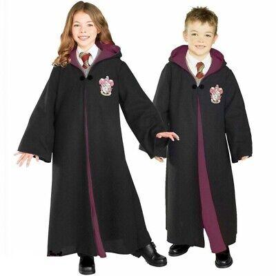 Kinder Harry Potter Hermine Deluxe Robe Kostüm Welt Buch Tag (Buch Tag Kostüm Kinder)
