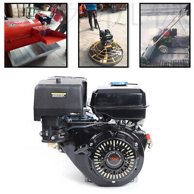 Gas Motor Engine Rubber Air Filter 15 Hp 4 Stroke Ohv Gasket Forced Air Cooling