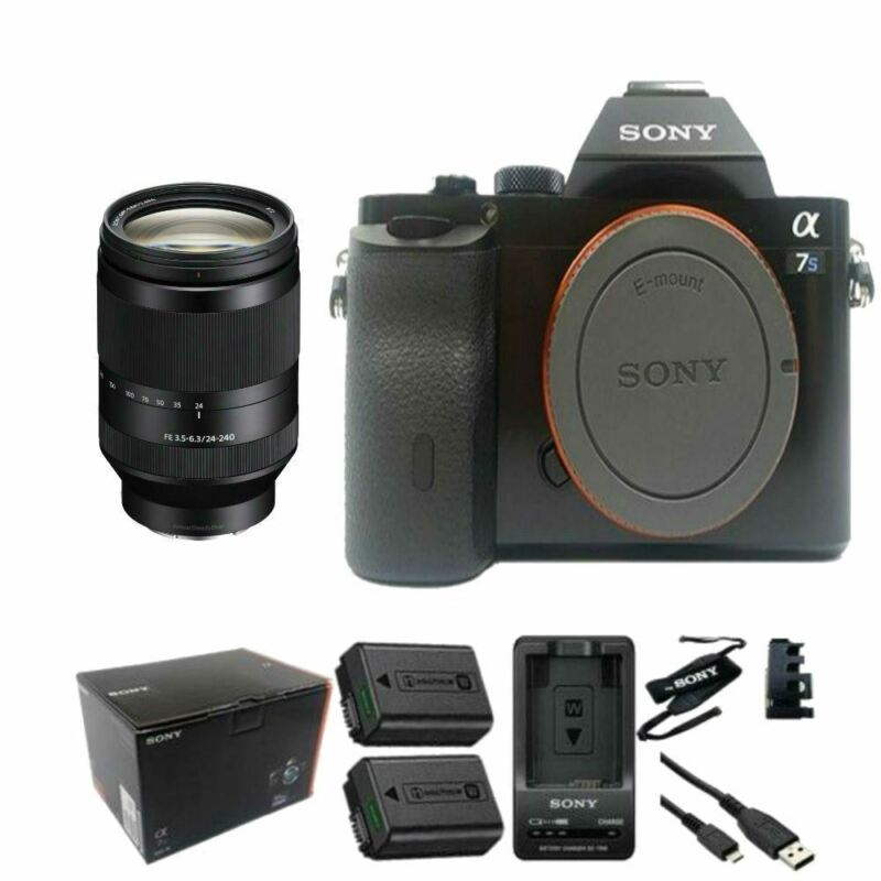 Sony A7s 42mp Full-frame Dslr + Fe 24-240mm F/3.5-6.3 Oss Lens
