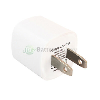 100 NEW USB Battery Wall Charger Adapter for Apple iPhone 2G 3 3G 3GS 4 4G 4S