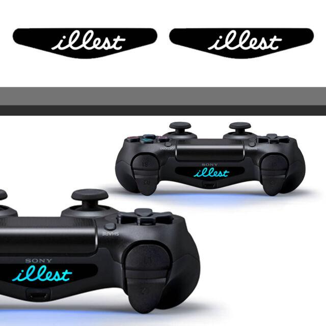 1x Illest PS4 Playstation Dualshock Light bar decal Sticker