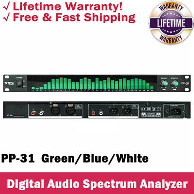Bds Pp-31 Digital Audio Spectrum Analyzer Display 1u Music Spectrum Vu Meter Top