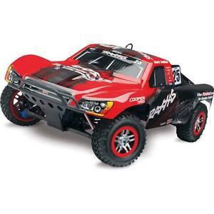 Traxxas 1/10 Nitro Slayer Pro 4x4 TQi w/EZ Start & TSM RTR Red/Black #25 59076-3