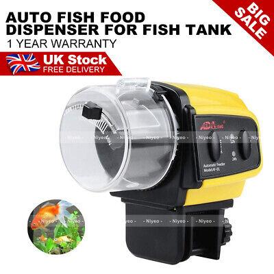 Automatic fish Food feeder Auto Feeding Timer for Aquarium Tank Pond Bowl