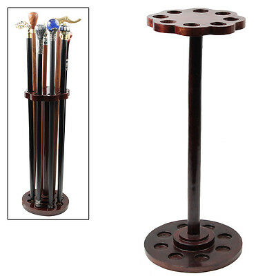 Solid Wood Holder of Charm Cane Walking Stick Umbrella Pool Que Stick (Solid Wood Walking Cane Stick)