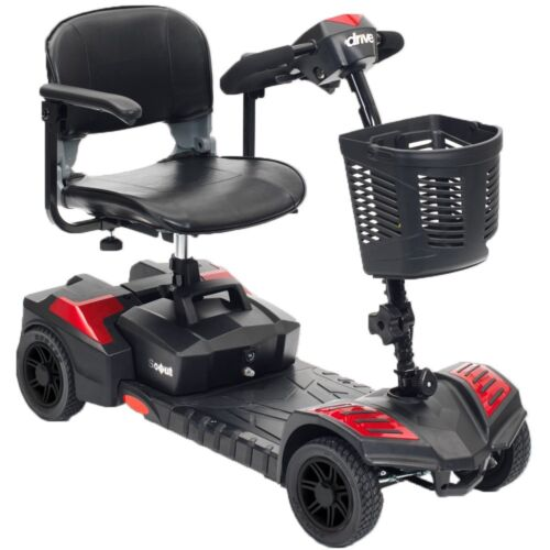 Scout 4 4-wheel Electric Mobility Compact Scooter Cart By Drive Medical