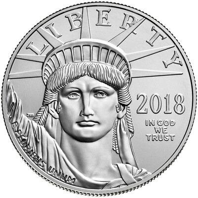 2018 American Platinum Eagle (1 oz) $100 - BU