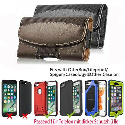 HandyTasche Gürtelclip mit Dickes Gehäuse Etui Zubehör für Apple Samsung Huawei  (Clip Für Handy)