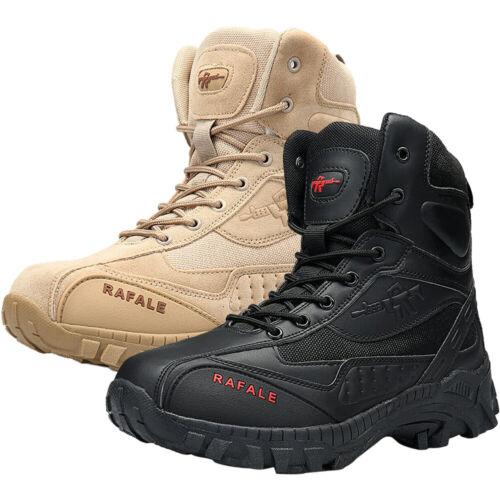 Men's Military Tactical Desert Boots Duty Work Outdoor Hikin