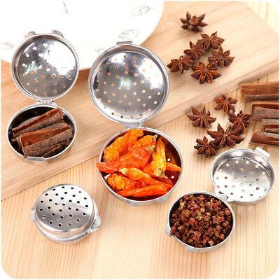 Stainless Steel Cruet Salt Pepper Seasoning Condiment Box Spice Shaker Bottle ()