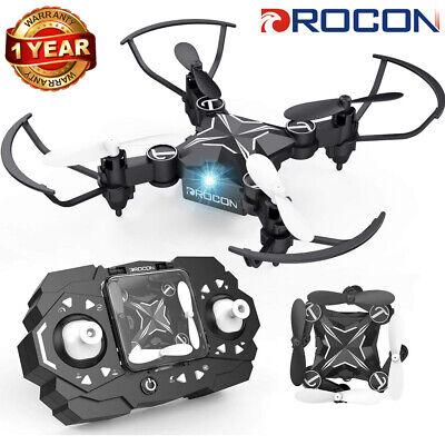 DROCON TENKER Foldable Mini RC Drone Headless Altitude Hold Portable Quadcopter