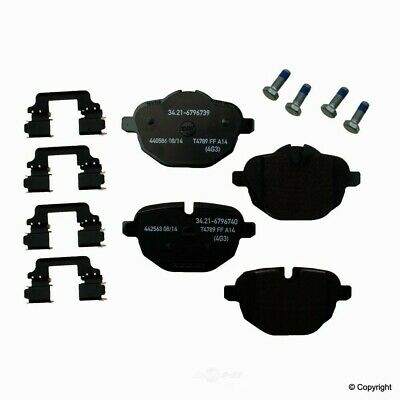 Genuine Disc Brake Pad fits 2011-2015 BMW i8 X3 X3,Z4  WD EXPRESS
