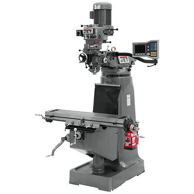 Jet Jtm-2 Stephead Milling Machine 1ph 690114 Free Shipping Wdro X Feed