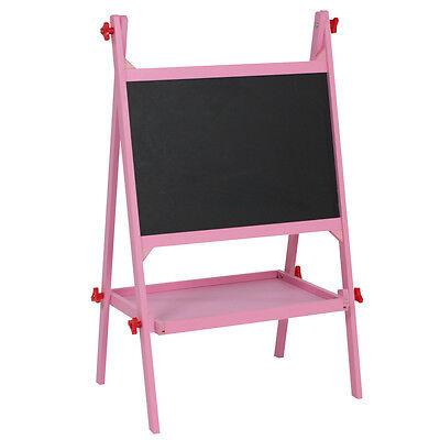 Kindertafel Schultafel Maltafel Standtafel Staffelei Schreibtafel Tafel pink