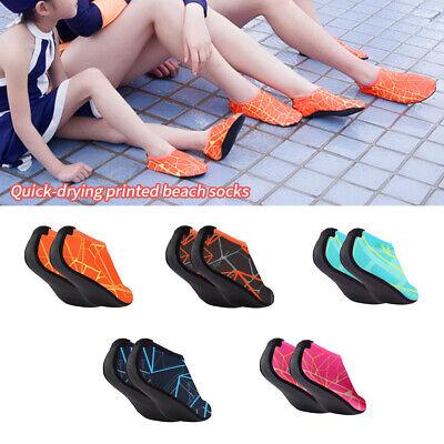 Unisex Adult Kids Barefoot Water Skin Shoes Aqua Socks Beach Swim Surf Yoga (Swim Skins Sale)