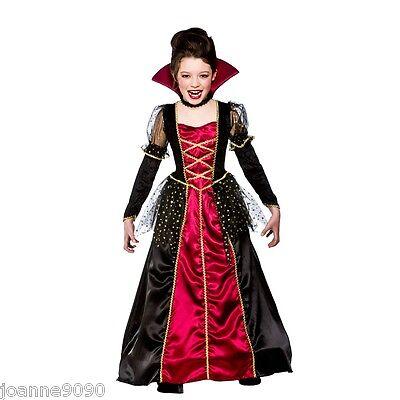 niña princesa vampira Vampira novia de Drácula Disfraz Halloween (Disfraz De Halloween Vampira)