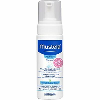 Mustela Foam Baby Shampoo for Cradle Cap Natural Avocado Per