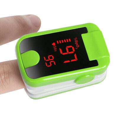 Fda Finger Pulse Oximeter Blood Oxygen Saturation Pr Measuring Spo2 Monitor 8c1
