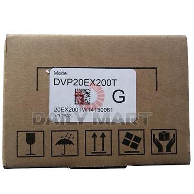 New In Box Delta Dvp20ex200t Plc Module 100khz 8di6do4ai2ao