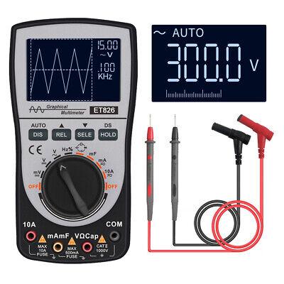 2in1 Upgraded Mustool Et826 Intelligent Digital Oscilloscope Multimeter Acdc Us