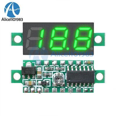 0.28 3-wire Green Led Dc 0-100v Voltmeter Digital Display Voltage Panel Meter