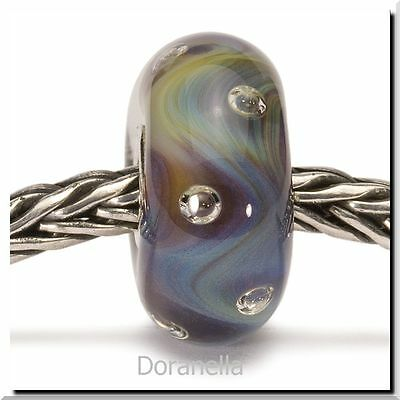 Authentic Trollbeads Glass 61403 Azure Bubbles :0