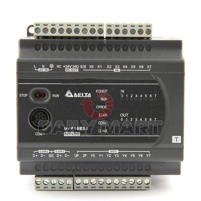 Delta Dvp16es200t Dvp-es2 Cpu Plc 100-240vac 8di 8do Transistor Output New Nib