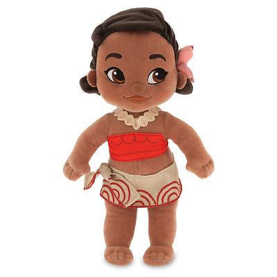 New Disney Store Moana Animators Plush Toddler Doll Nwt