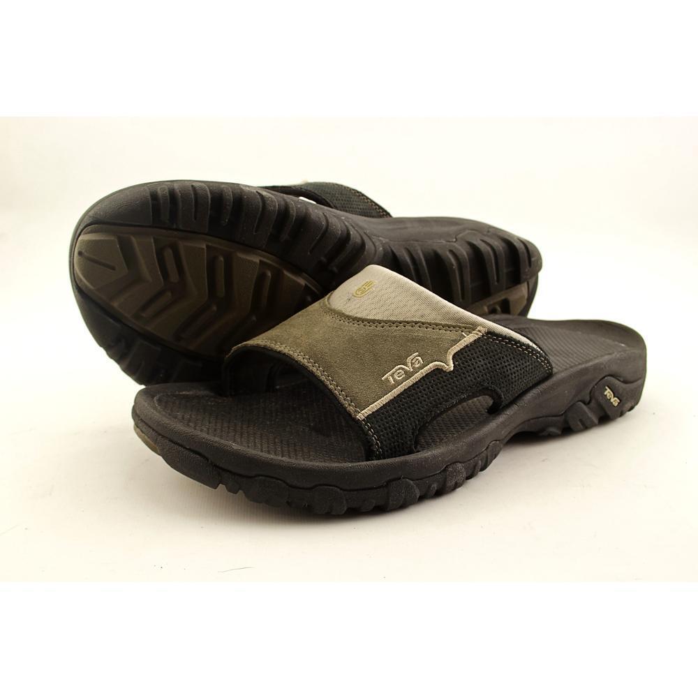 12855845eb6c3 Teva Men s Katavi Slide Sandal Bungee Cord Sz 8 BNGC 4145