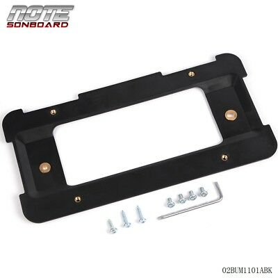 For BMW Model Cars Rear Number License Plate Bracket Mount Frame Tag Holder Base for sale  USA