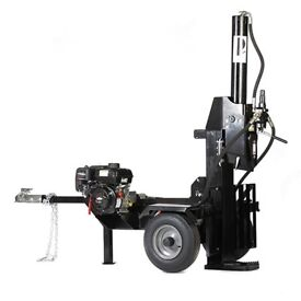 Black Tools Professional 22T HYDRAULIC Log Splitter 62cm, 6.5hp, Briggs & Stratton petrol