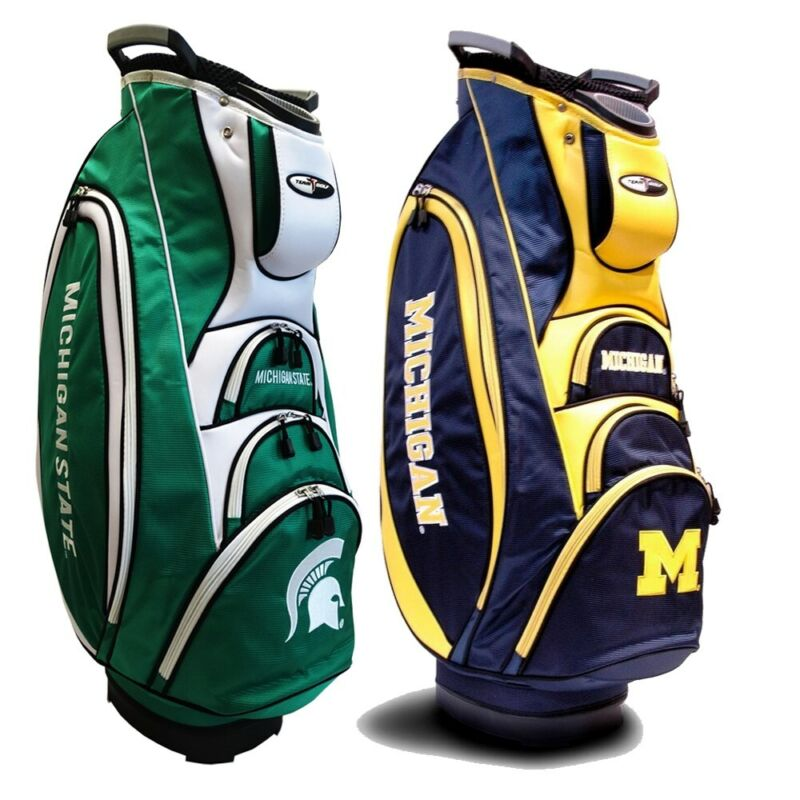 NEW Team Golf Victory Cart Bag 10-way Top - NCAA - Pick Your Team!