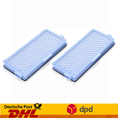 Hepa-filter (2 Hepa Filter für Miele AirClean SF-HA 50 Aktiv S5 S6 S7 S8 S5000 S8000)