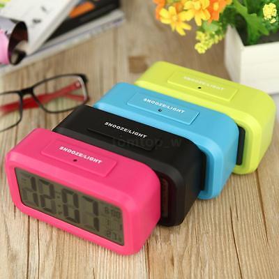Digital Alarm LED Clock Light Control Backlight ...