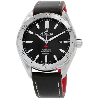 Alpina Alpiner 4 Automatic Movement Black Dial Men's Watch AL-525BS5AQ6