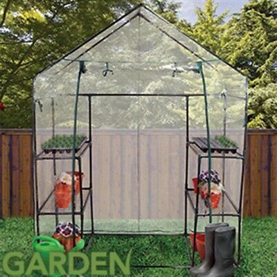 Large Walk-In Greenhouse With Steel Frame And Easy Assembly