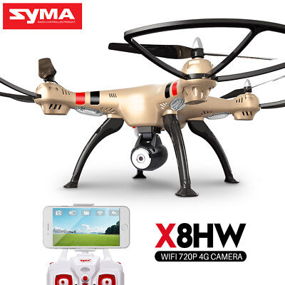 RC Quadcopter Drone SYMA X8HW 8MP Photos 720P Sports Camera FPV Real Time