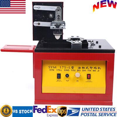 Automatic Pad Printer Logo Barcode Electric Indirect Gravure Printing Machine Us