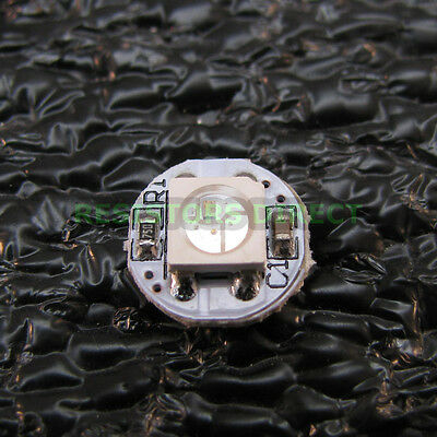 Led Pixel Mini Pcb Pack Of 5 Rgb 24-bit Color Breakout White Pcb Led Y39